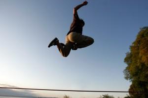 Mike lemur leapin